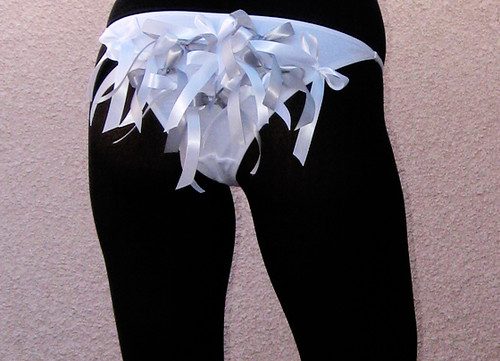 DIY-whut-gray-bow-panties-loveMaegan-butt | by ...love Maegan