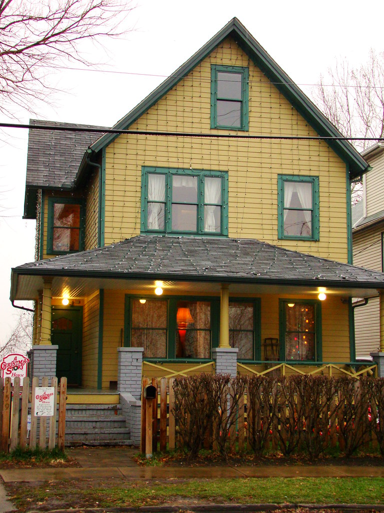 a christmas story house by thisiscle