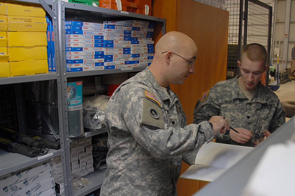 U.S. Army Africa headquarters support company supply excel ...