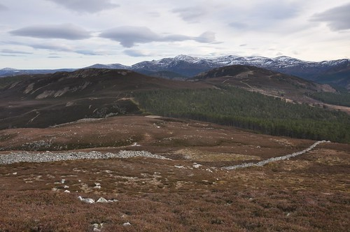 Meall Gorm from Creag a' Chat