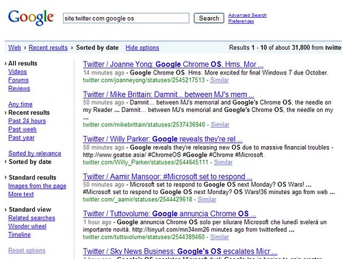 Searching Twitter With Google | by search-engine-land