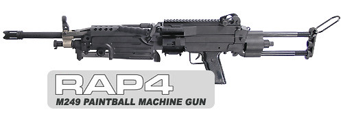how to build a paintball machine gun
