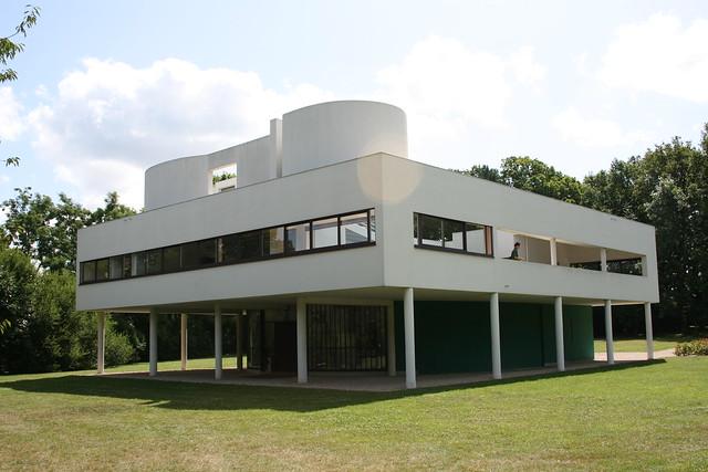 Villa savoye le corbusier poissy fran a explore luiz for Poissy le corbusier