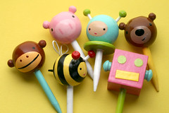 Cupcake Toppers from Lollipop Workshop | by Bakerella