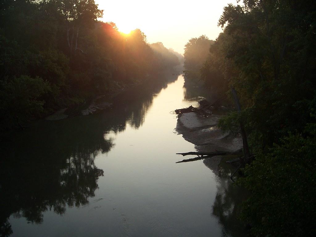 Loosahatchie River Millington Tn Just Under Halfway