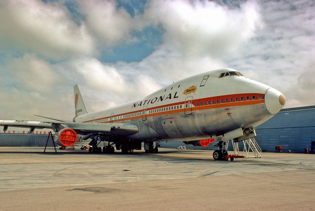 Image Gallery National Airlines 747