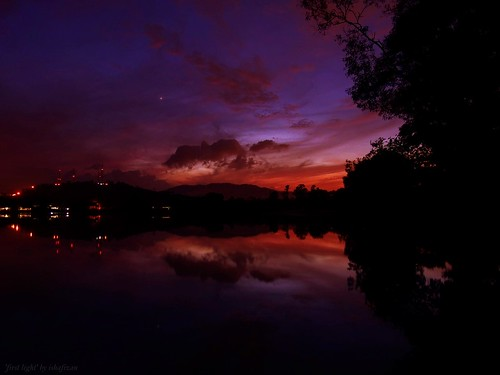 First light @Tasik Biru | by ishafizan