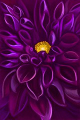 Purple Dahlia | by Yvonne Raftery