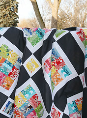 Winter Rainbow Quilt Top | by Fresh Lemons : Faith