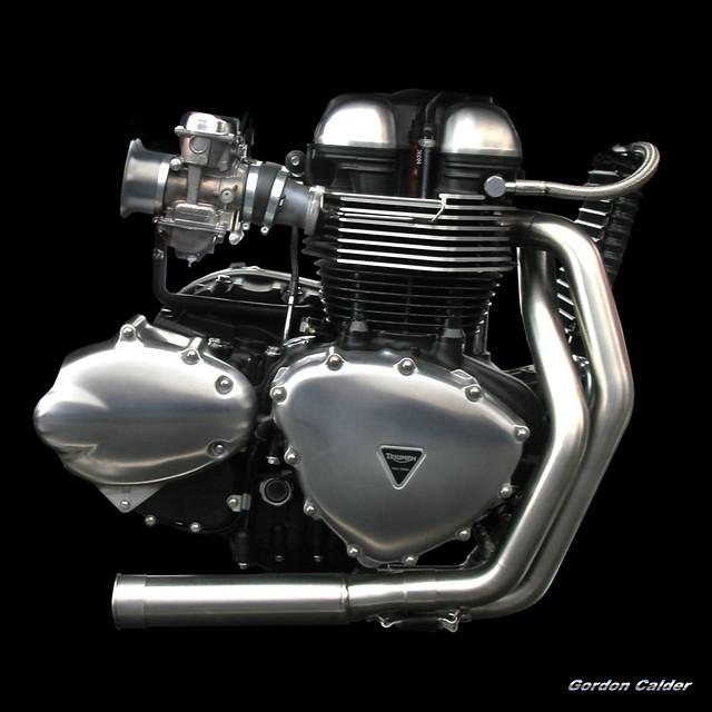 No 66 Triumph Thruxton Engine 900cc My Entire Engine