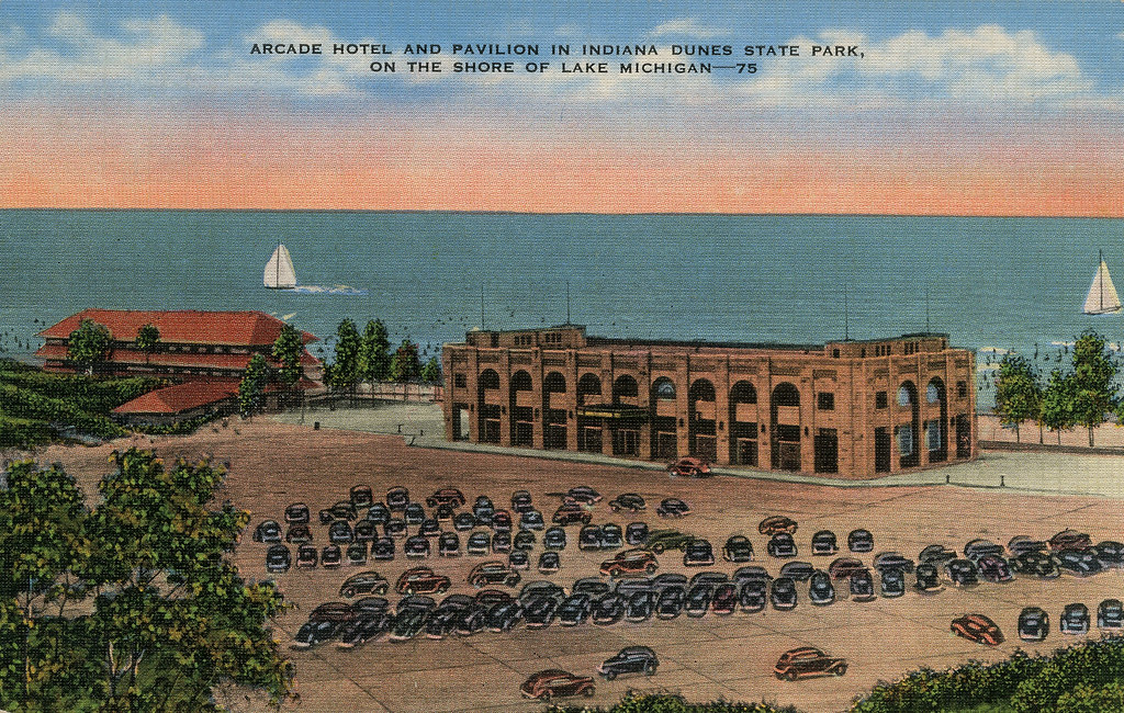 arcade hotel and pavilion at indiana dunes state park ch flickr rh flickr com hotels near indiana dunes in hotels near indiana dunes national seashore