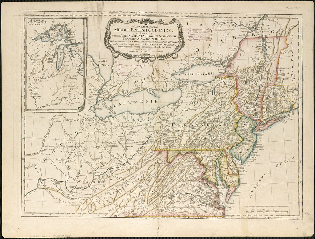 the history of pennsylvania as an english colony A historical overview of pennsylvania when william penn advertised his colony to the english, german ba history university of.