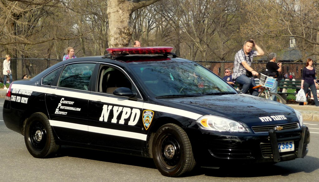 Nypd Traffic Enforcement Central Park New York City New