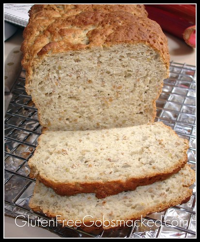 Gluten Free Sunflower & Millet Bread | by Kate Chan