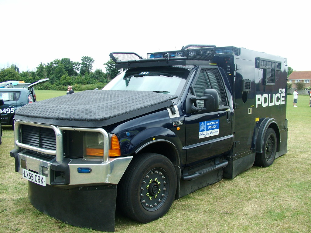 Ford Super Duty >> Ford F450 XL Super Duty | Metropolitan Police (DVS) Armour ...