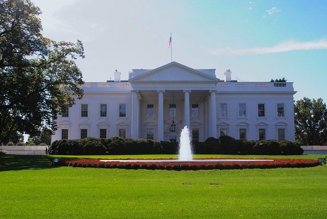 White house Front View | Flickr - Photo Sharing!