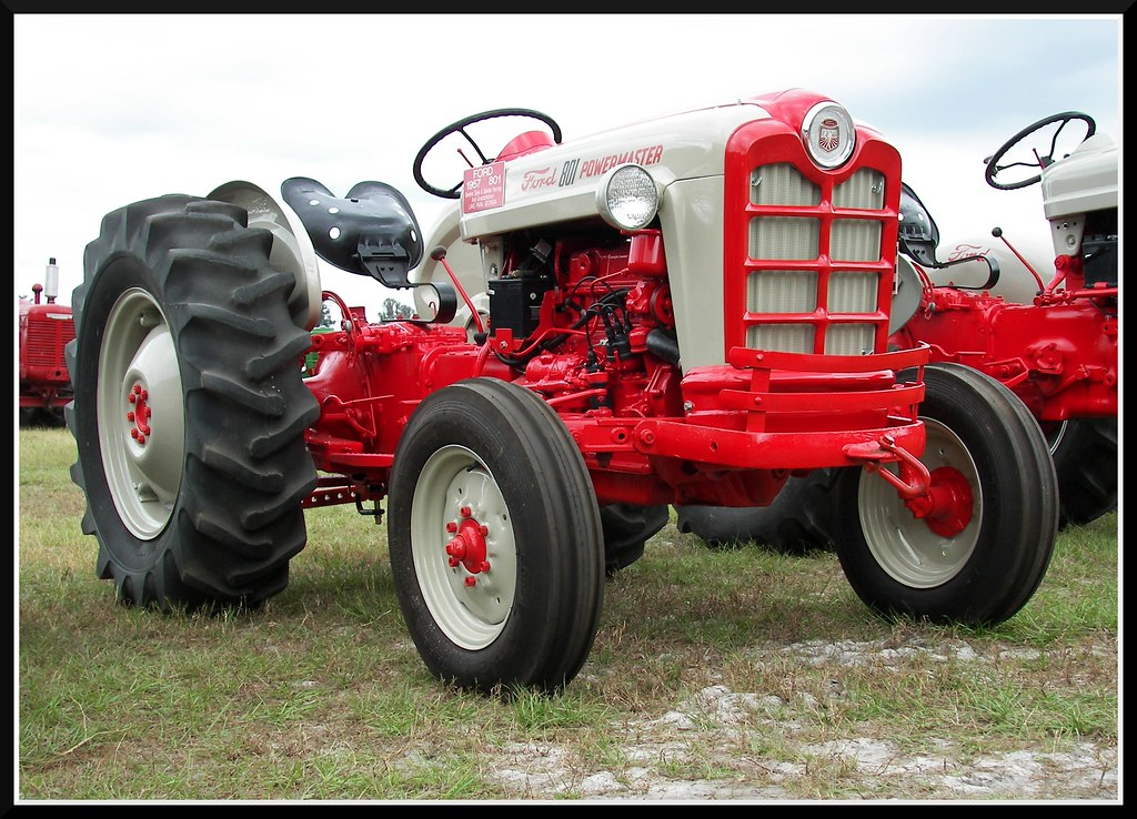 Old Ford Diesel Tractors : Ford powermaster a beautiful old