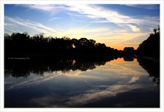 Lincoln Memorial at Sunset | by Ch♥e Photography