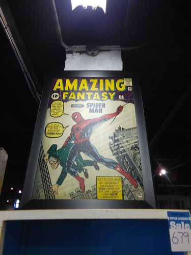 Amazing Fantasy #15 (August 1962), on metal
