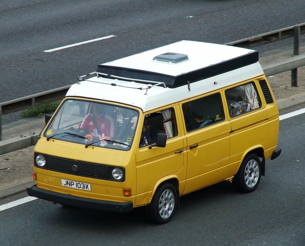 T3 Campervan 1982 Volkswagen Type 2 T3 Transporter
