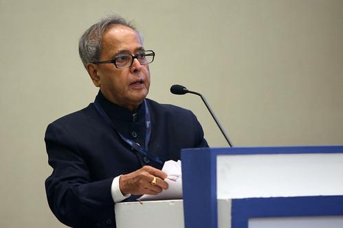Indian President Mukherjee Awarded for Open Innovation