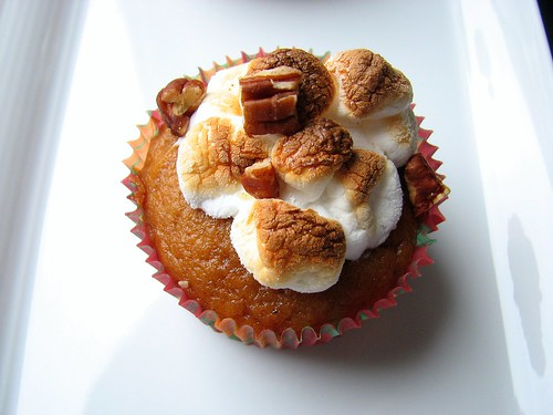 MSC Sweet Potato Cupcakes | by Tracey's Culinary Adventures