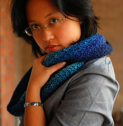 dipped infinity scarf | by cosmicpluto