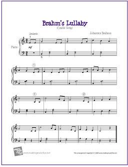 Easy Piano Sheet Music Free Printable