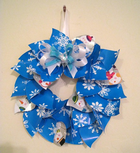 Completed Paper Wreath | by jessicagreen0202