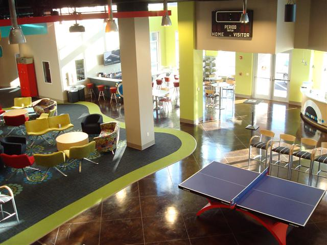 The arena fbc tuscaloosa al game area snack bar - Interior design games for adults ...