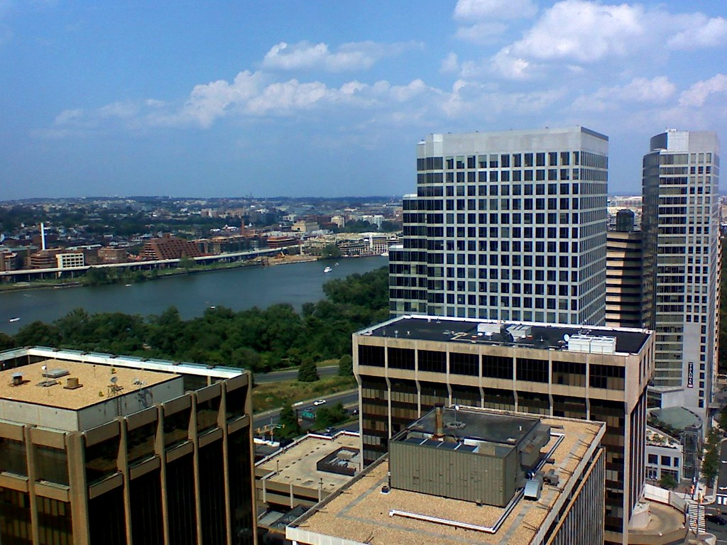 View Of Rosslyn From Turnberry Tower