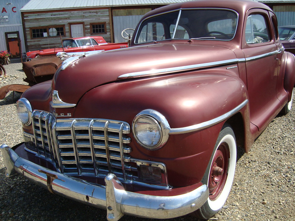 1948 dodge special deluxe d25 club coupe chrysler of cana for 1948 dodge deluxe 4 door
