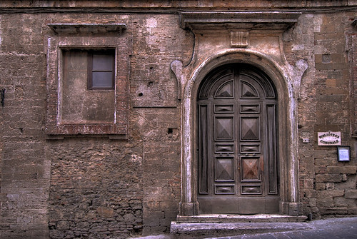 old door and small window | by rinogas