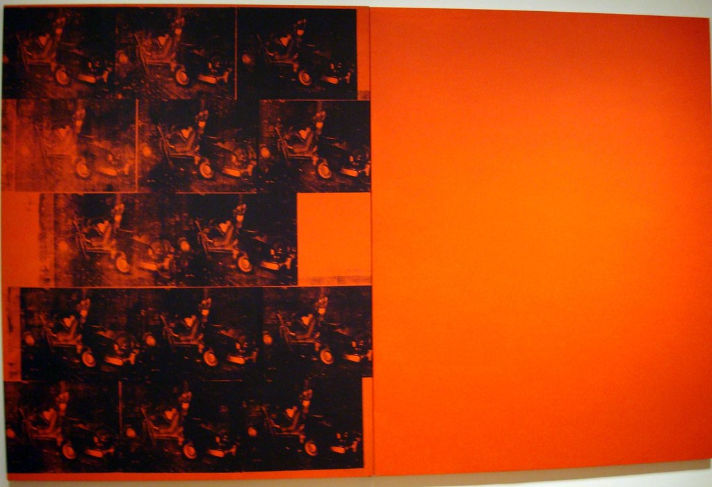 Andy Warhol Orange Car Crash Fourteen Times