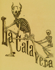 La Calavera-woodblock by Jose Guadalupe Posada | by She's Clearly a Bad Influence On Herself