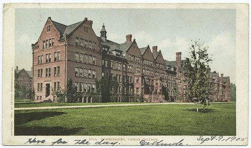 Dormitories, Vassar College, Poughkeepsie, N.Y. | by New York Public Library