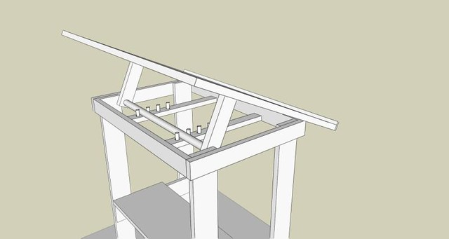 Delicieux Build Your Own Drafting Table, Cheap! | Flickr