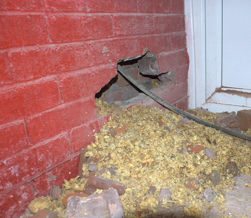 Cavity Wall Insulation Removal Hi Everyone Thought I