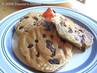 Pumpkin Chocolate Chunk Pancakes | by Dianne's Dishes