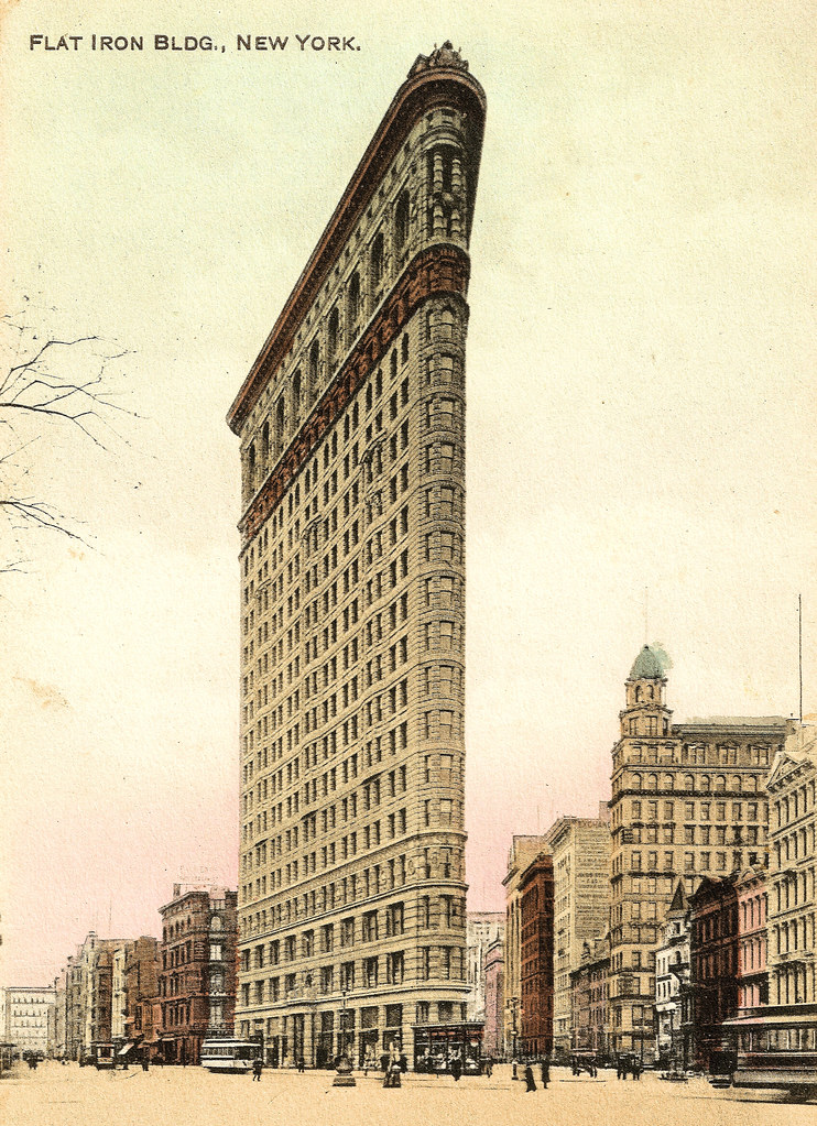 Block World Free >> New York - the Flatiron Building Prior to 1921. And Some I… | Flickr