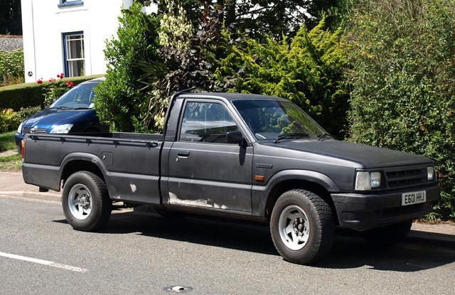 1987/88 Mazda B-Series pickup | Spottedlaurel | Flickr