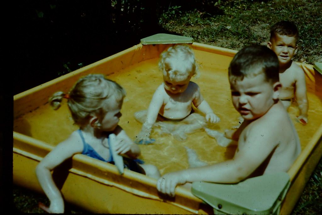 Plastic Kiddie Pool