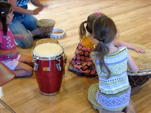 African Drumming @ Woodside Library | by San Mateo County Libraries