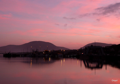 Pink Sky At Stromness | by orquil