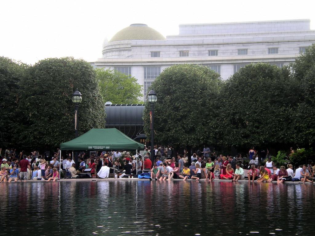 Day 289 365 Jazz In The Sculpture Garden Jazz In The Scu Flickr