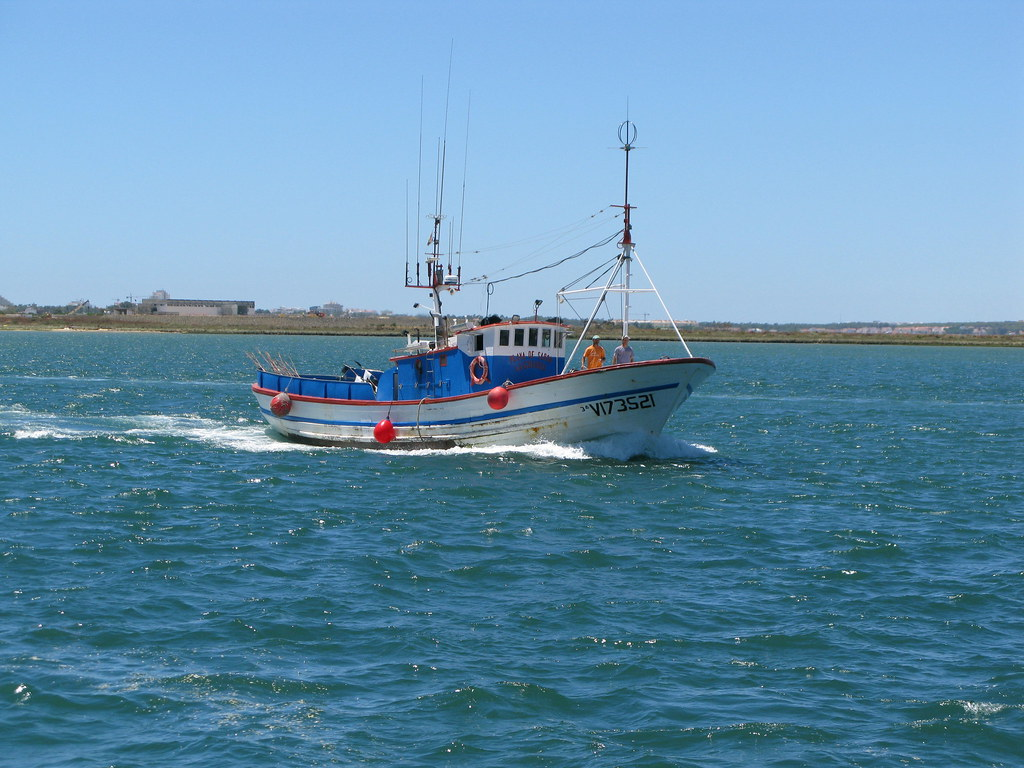 Fishing boat guadiana river a traditional fishing boat for Best river fishing boat