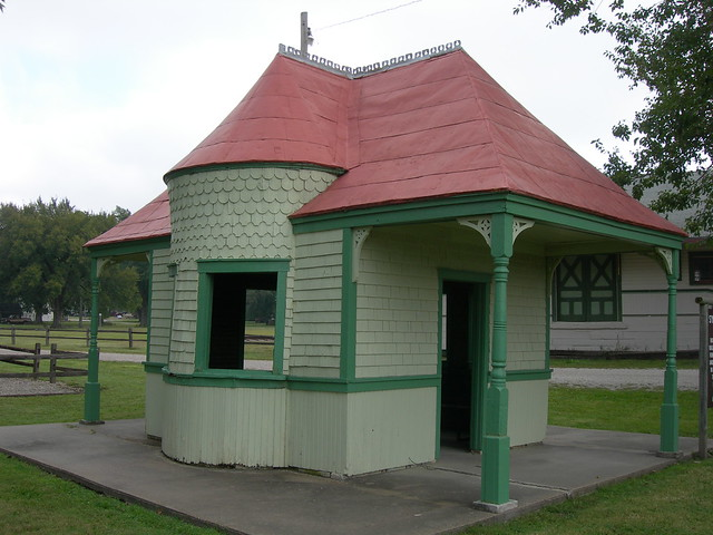 Sylvan Park Depot Now Located In The Council Grove