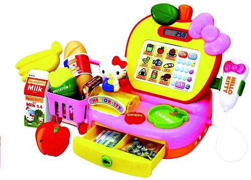 Caja registradora hello kitty la caja registradora le - Caja registradora juguete ...