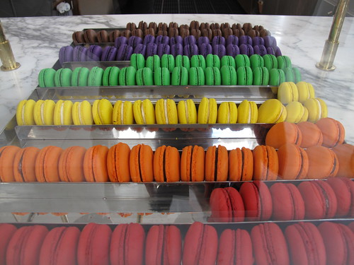 Rainbow macaroons | by poketo