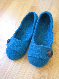 French Press Felted Slippers | by susanmarie2